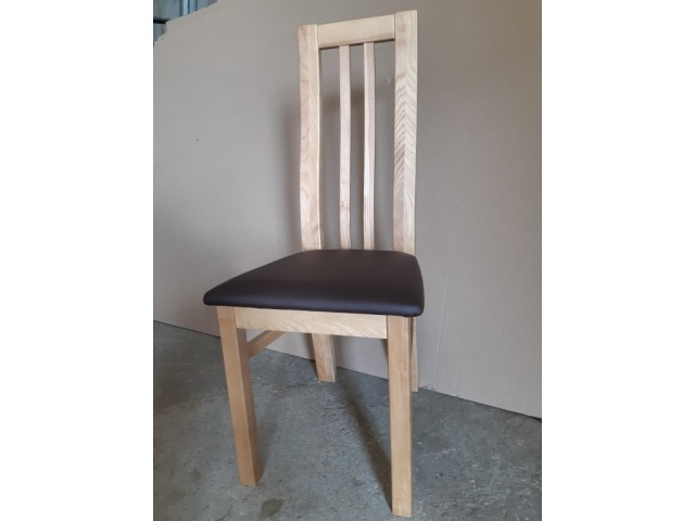 Обідній стілець «Осло» з дерева (ясена, дуба)