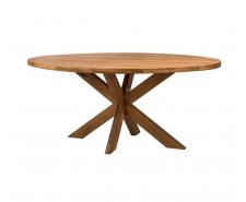 Овальний стіл «Серфер» з масиву дерева (ясена, дуба)