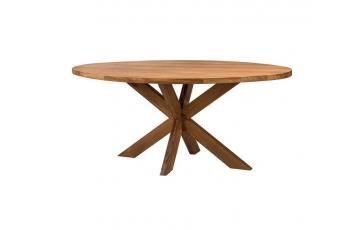 Овальный стол «Серфер» из массива дерева (ясеня, дуба) (180×95×3 см)