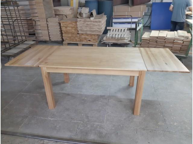 Стіл обідній «Шепіт» дерев'яний (масив дуба, ясена)