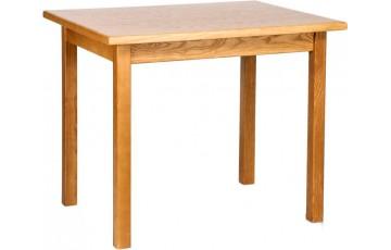 Стол «Явир-М» 4ПШ из ясеня и шпонированного ДСП (90x70 см)