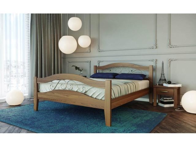 Афіна 2 — дерев'яне двоспальне ліжко