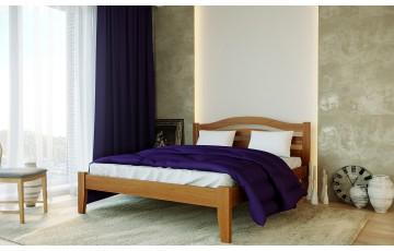 Афіна Нова: одно— та двоспальне ліжко із масиву буку