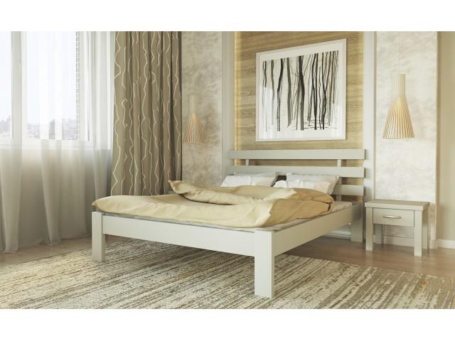 Асоль — Дерев'яне ліжко із масиву буку