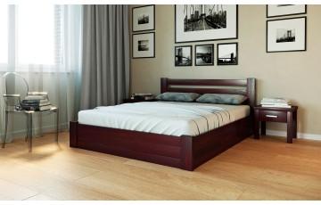 Жасмін з підйомним механізмом: дерев'яне ліжко (буковий щит)