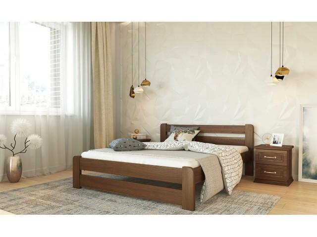 """Одно- або двоспальне ліжко із дерева """"Ліра"""""""