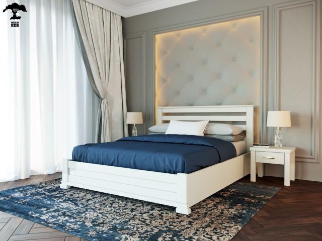 Дерев'яне ліжко «Лорд» з механізмом підйому рами
