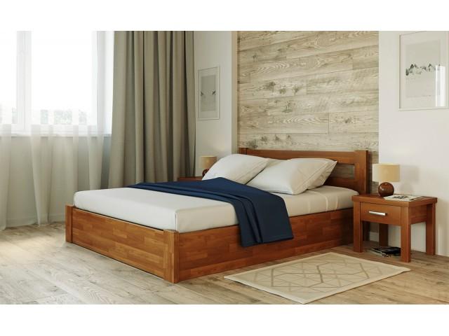 Соня з підйомним механізмом: ліжко із масиву буку (щит)