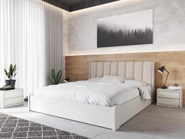 Комфортне дерев'яне ліжко «Токіо М50» з підйомною рамою