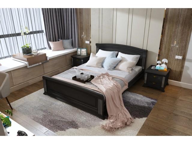 Дерев'яне ліжко «Афіна»: стиль, якість та надійність