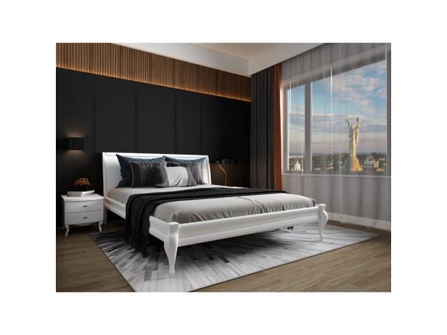 «Дублін» — дерев'яне двоспальне ліжко з простим дизайном