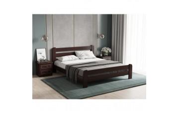 «Малага» — сучасне ліжко з натурального масиву дерева (вільха)