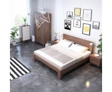 «Мілан» — дерев'яне ліжко у стриманому дизайні