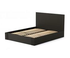 Стримане дерев'яне ліжко «Мілан» з підйомним механізмом