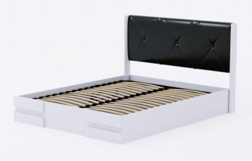 «Сієна» — вишукане дерев'яне ліжко з підйомною рамою