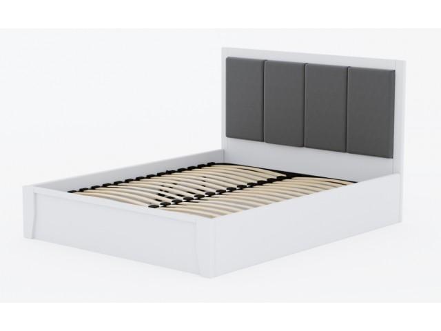 Привабливе дерев'яне ліжко «Верона» з підйомним механізмом