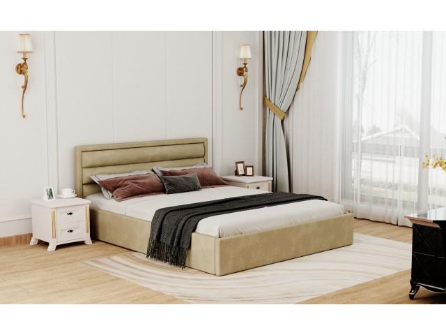 Сучасне двоспальне м'яке ліжко «Хьюстон»