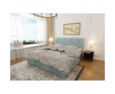 «Монтана» — вишукане ліжко з м'яким каркасом та узголів'ям