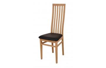 Обідній стілець «Дора» з дерева (ясен, дуб)