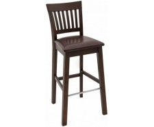 Барний стілець «Райнес» з дерева (ясень, дуб)