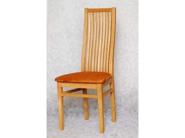 Обідній стілець «Сандра» з дерева (ясен, дуб, бук)
