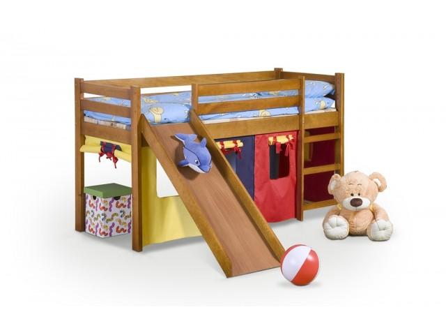 Ліжко дитяче з гіркою Halmar Neo Plus