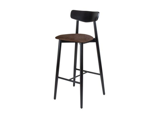 Дерев'яний барний стілець Dan (ясен)
