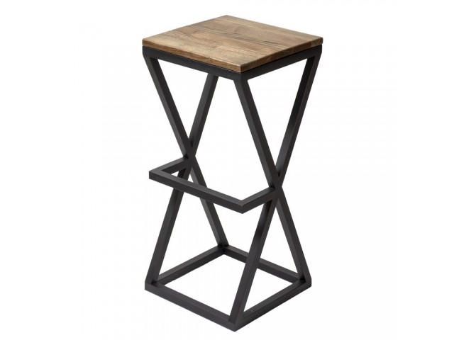 Дерев'яний барний стілець №8 (ясен)