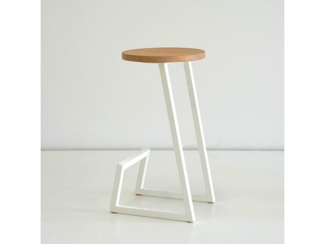 Дерев'яний барний стілець №9 (бук)