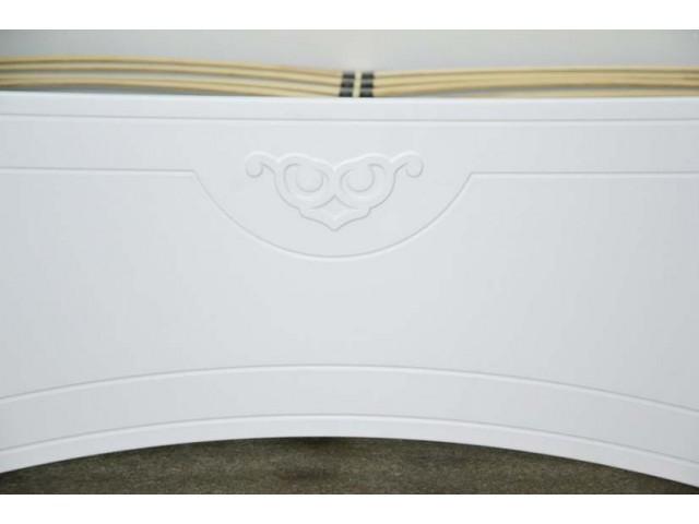 Ліжко дерев'яне двоспальне Анжеліка з підйомним механізмом (МДФ)