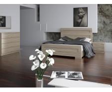 Ліжко дерев'яне одно/двоспальне Кармен (МДФ)