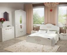 Ліжко дерев'яне одно/двоспальне Лючія (МДФ)