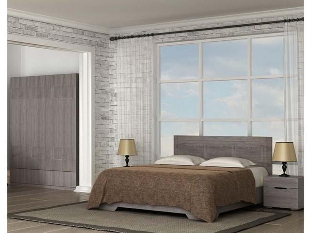 Ліжко дерев'яне одно/двоспальне Марсель (МДФ)