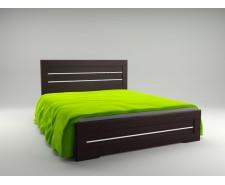 Ліжко дерев'яне двоспальне Соломія з підйомним механізмом (МДФ)