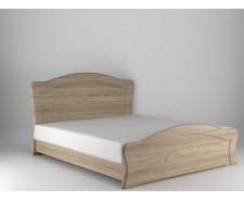 Ліжко дерев'яне одно/двоспальне Віолетта з висувними ящиками (МДФ)