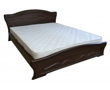 Ліжко дерев'яне двоспальне Віолетта з підйомним механізмом (МДФ)