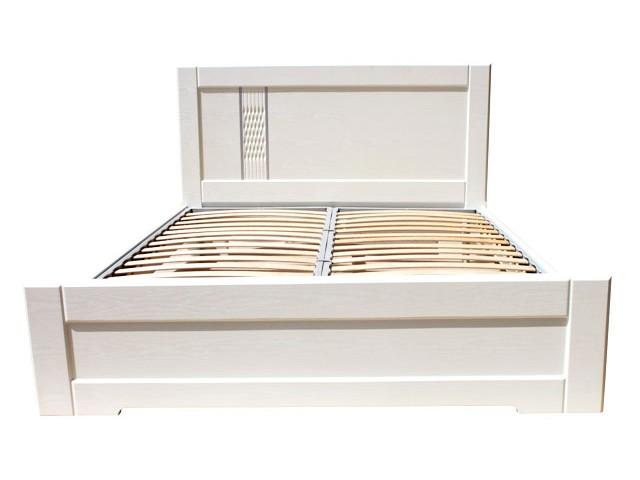 Ліжко дерев'яне одно/двоспальне Зоряна (МДФ)