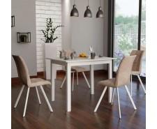 Стіл обідній дерев'яний розкладний Браво (100/127,5*70*75 см)