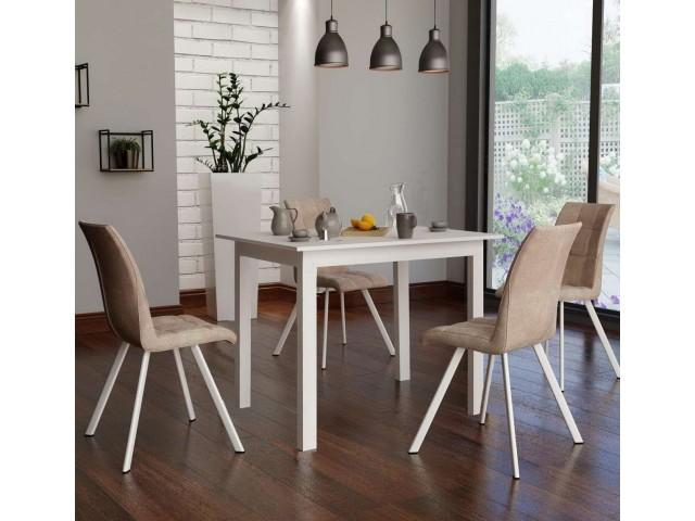 Стіл обідній дерев'яний розкладний Браво (108+32х73 см)