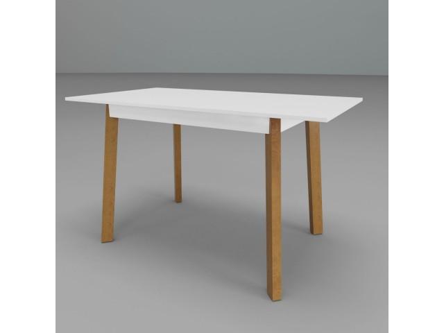 Стіл обідній дерев'яний розкладний Фрідом (107,5/140*73*74 см)