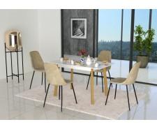 Стіл обідній дерев'яний розкладний Фрідом (100/127,5*70*75 см)