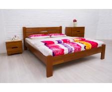 Ліжко дерев'яне двоспальне Айріс (Iris) без узніжжя (Бук, щит)