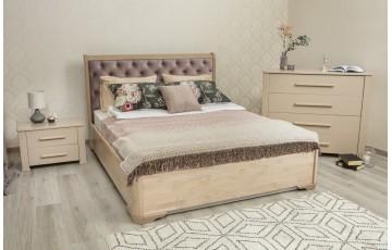 """Ліжко двоспальне """"Мілена Преміум"""" з підйомним механізмом або ящиками"""
