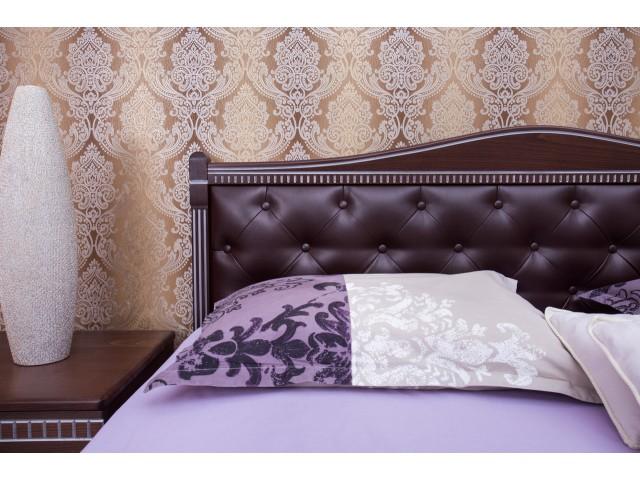 Ліжко дерев'яне двоспальне Прованс (Provance) (Бук, щит) з підйомним механізмом