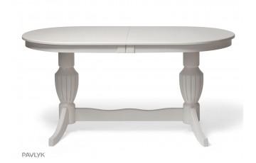 """Дерев'яний стіл """"Амфора (Amphora)"""" Великий (бук) 120+40 см"""