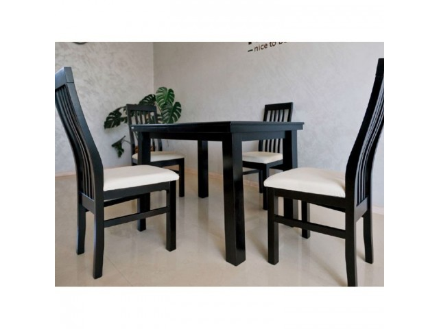 """Дерев'яний стіл """"Європа-2 (Europe-2)"""" (бук) 120/160/200+40 см"""
