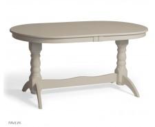 """Дерев'яний стіл """"Гостинний"""" Великий (бук) 120/160/200+40 см"""