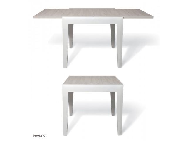 """Дерев'яний стіл """"Мальта (Malta)"""" (бук) 80+40/120+120 см"""