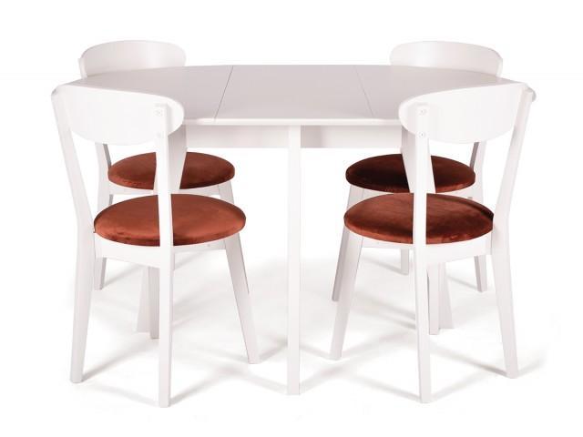 """Дерев'яний стіл """"Марс (Mars)"""" (бук) 100+40 см"""