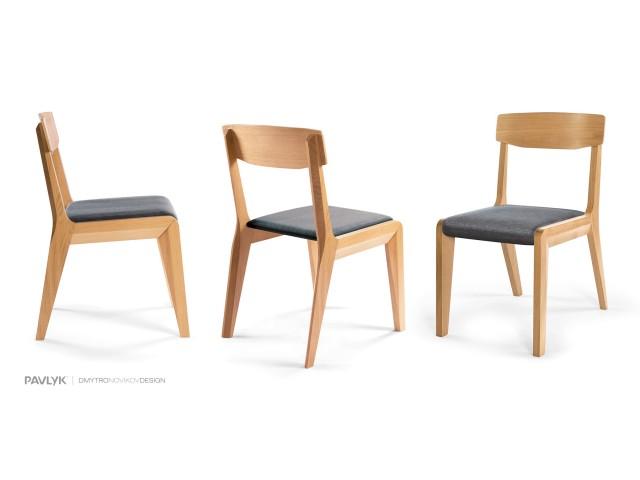 """Дерев'яний стілець """"Орі (Ori)"""" (бук)"""